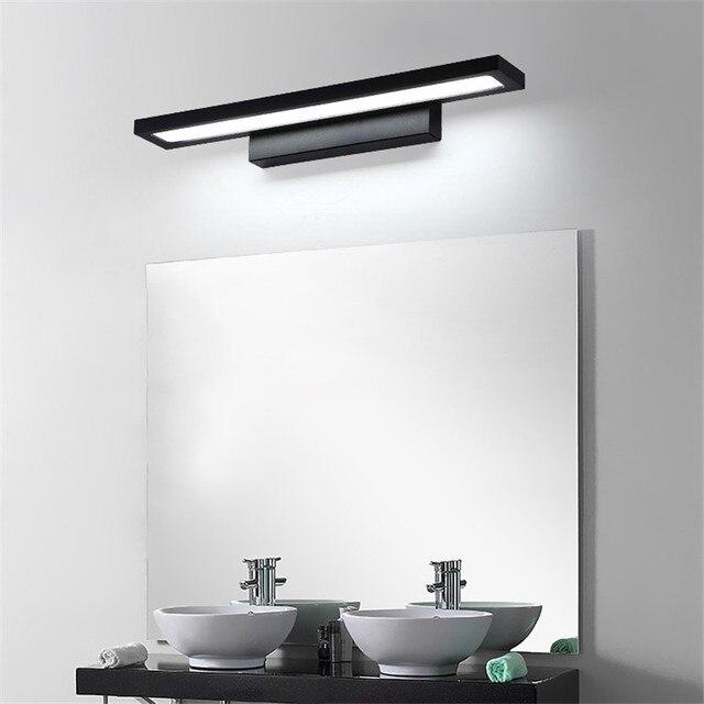 11W LED Wall light Bathroom Mirror Light Waterproof Modern Acrylic Wall Lamp Bathroom Lighting AC85 265V