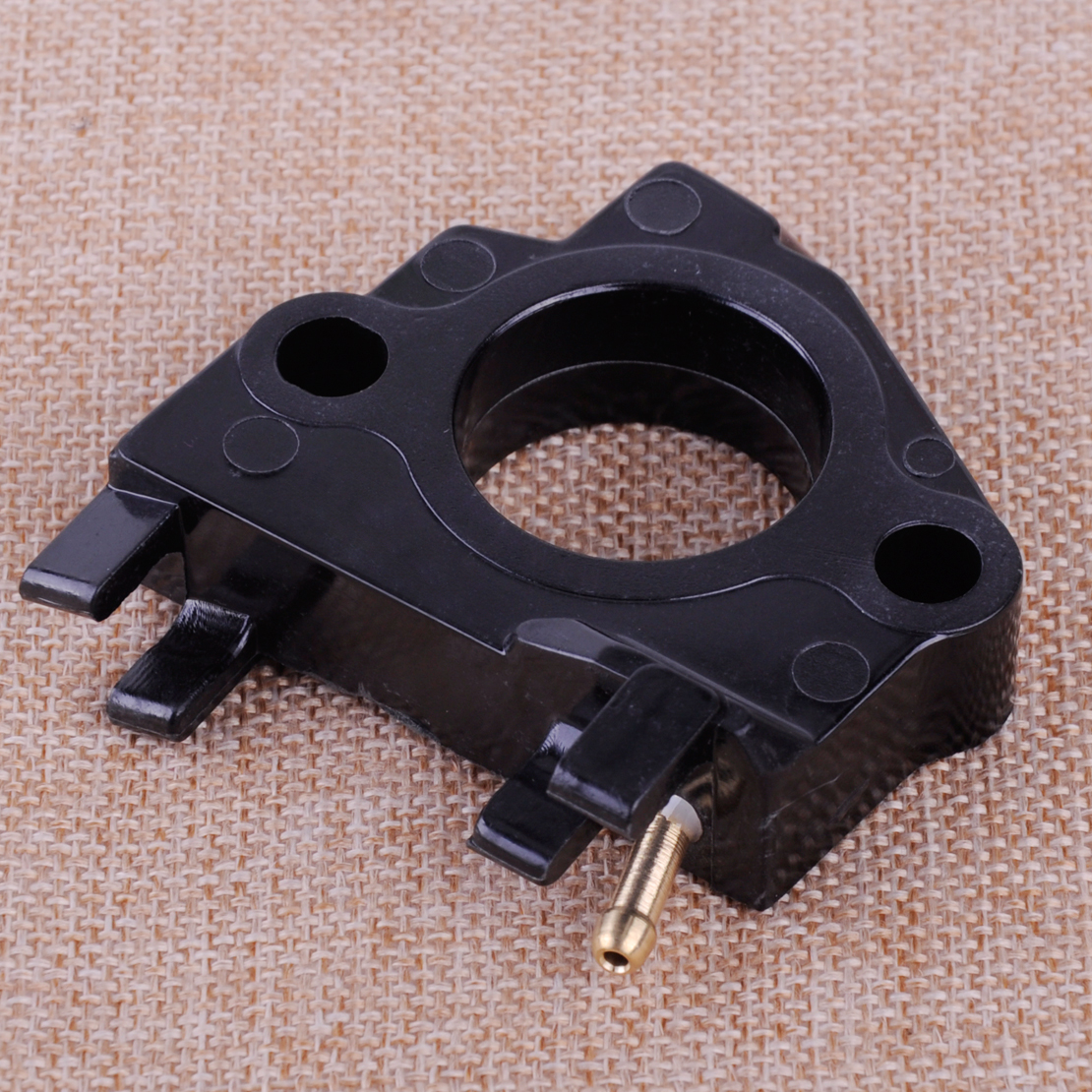 LETAOSK New Black Carb Carburetor Insulator Spacer Fit For Honda GX340 GX390 11Hp 13Hp