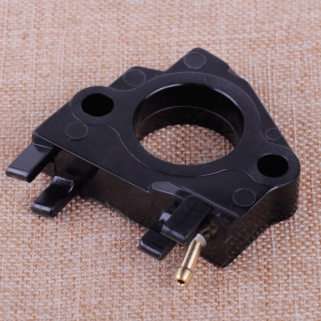 LETAOSK New Black Carb Carburetor Insulator Spacer Fit For Honda GX340 GX390 11Hp 13Hp