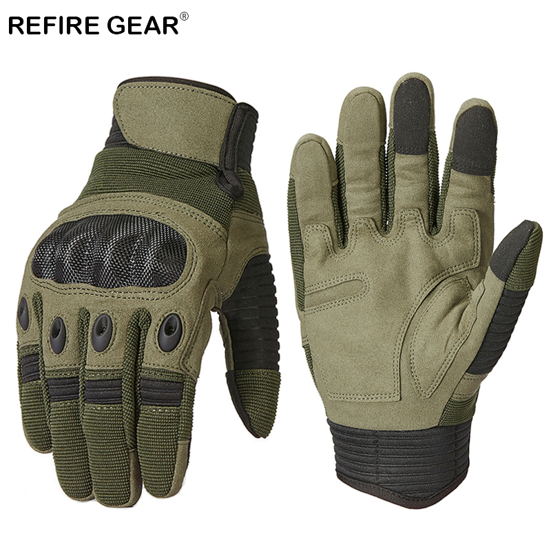 Supply Refire Gear Army Tactical Full Finger Gloves Men Winter Outdoor Sport Hiking Camping Glove Male Paintball Airsoft Military Glove Comfortable And Easy To Wear