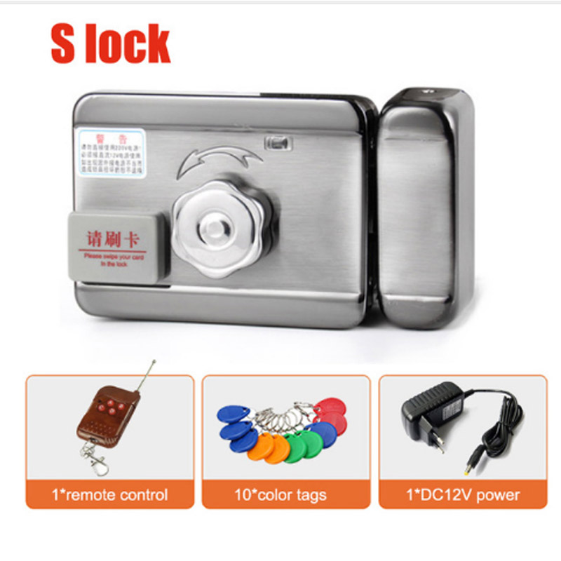 Home Smart ID Door & gate lock castle Access Control Electronic integrated RFID Door Rim lockHome Smart ID Door & gate lock castle Access Control Electronic integrated RFID Door Rim lock
