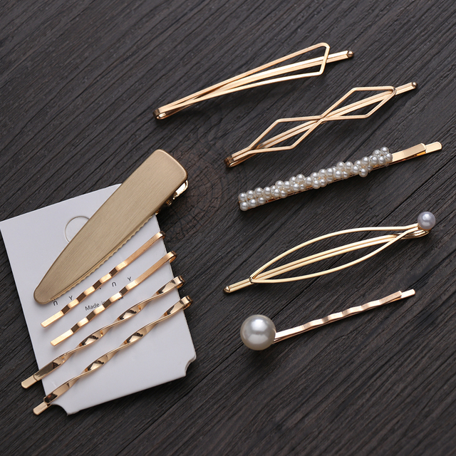 Minimalist Styled Hair Pins