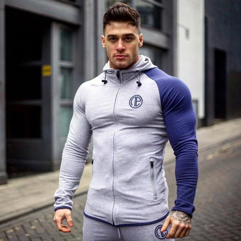Men's Loose Coat Singlets Sweatshirts Mens Hoodies Stringer Bodybuilding Fitness Shirts Suitable For Autumn And Winter