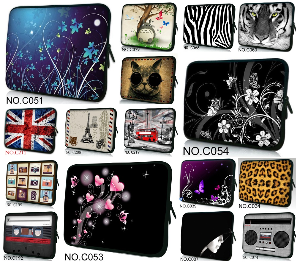 Hot Fashion SBR Sleeve Case For MacBook Air 11,AIR 13,Retina 12,13.3,15.4 inch,100+ Colors, Wholesales,Free Drop Shipping.