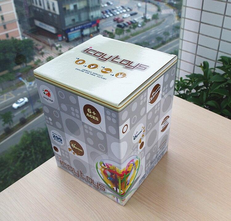 100 ~ 299 nivåer labyrint pusselboll 3d labyrint intellekt barn - Spel och pussel - Foto 4