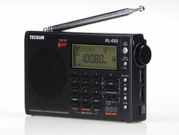 PL-450 portable full digital stereo  PLL AM FM LW MW SHORTWAVE TECSUN PL450 RADIO ATS tivdio portable fm radio dsp fm stereo mw sw lw portable radio full band world receiver clock
