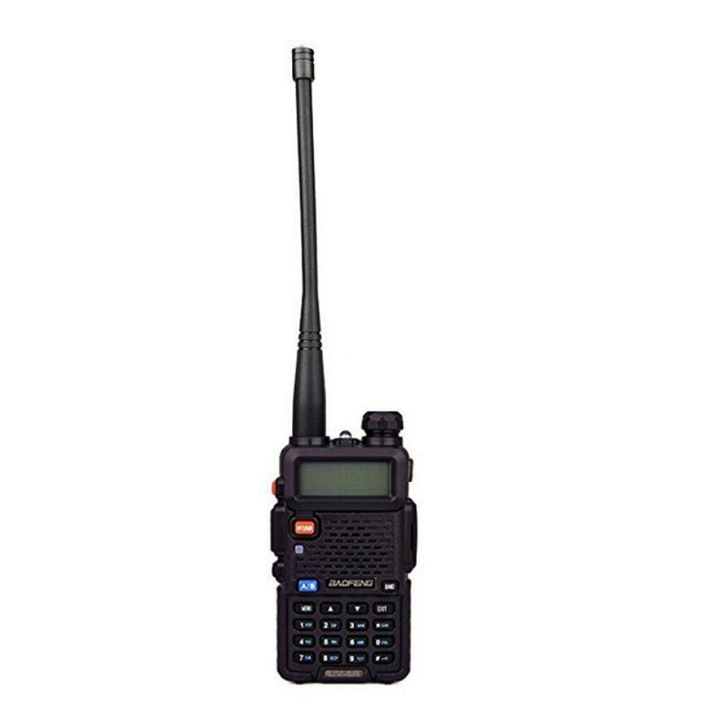 RU entrepôt! UV-5R-Black Portable Radio Double bande VHF UHF two way radio 136-174/400-520 jambon radio uv-5r 1800mA Talkie walkie