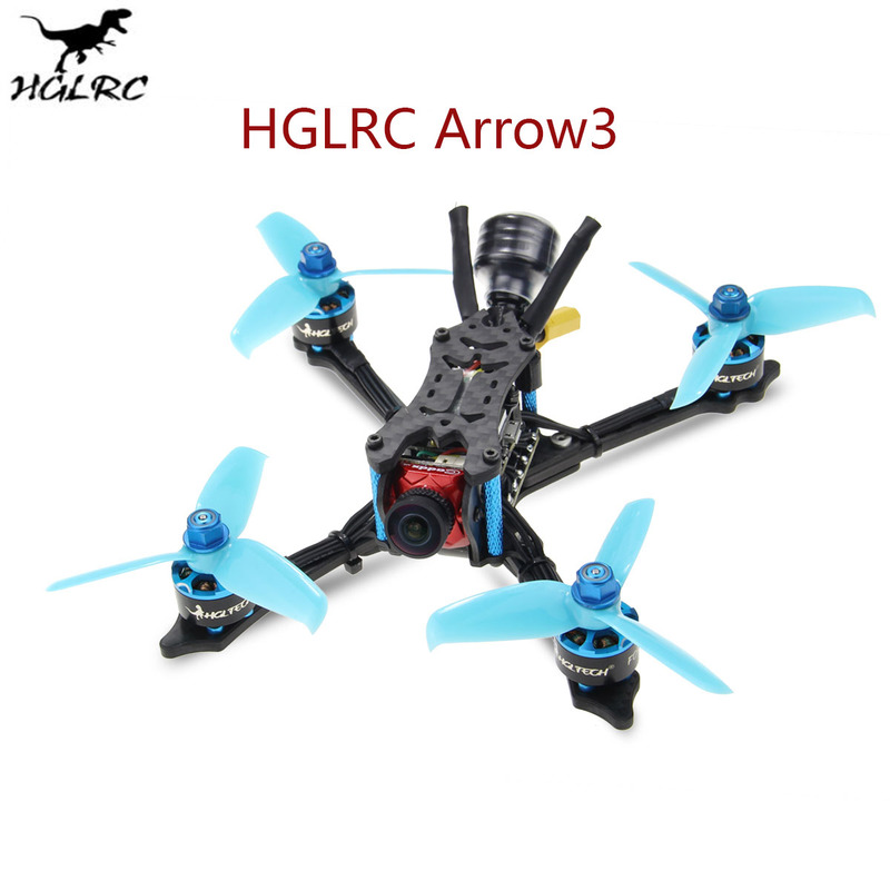 HGLRC Arrow3 152mm F4 OSD 3 Inch 4S 6S FPV Racing Drone PNP BNF w 45A