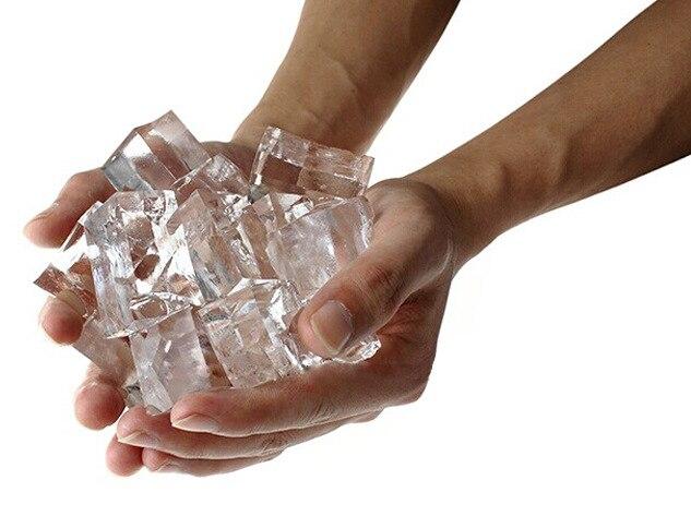 Saco 1 Água Torna-se Gelo Prop Truque de Mágica Close-up Magic Toy Engraçado Ice De Água Magia Magia de Palco para Mágicos Profissionais
