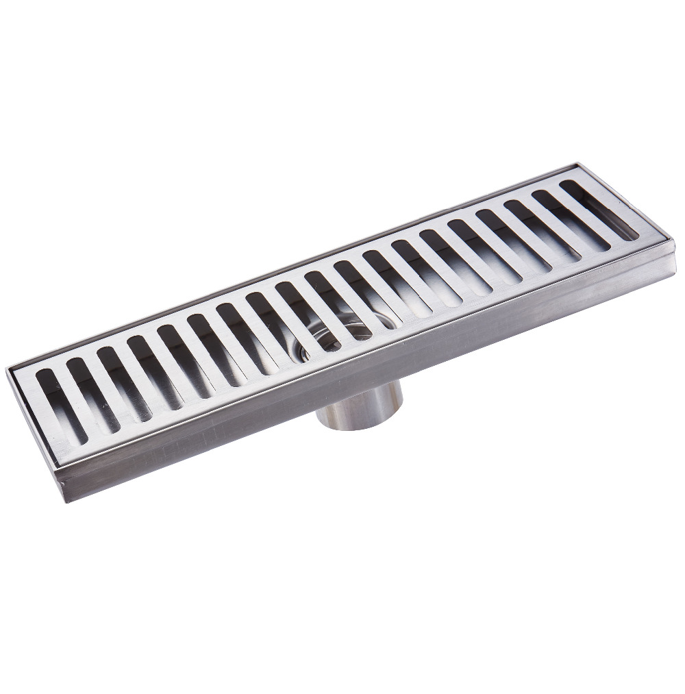 Stainless Steel Bathroom Grille Shower Drain Floor Drain Trap Waste Grate Grid Strainer Anti-Rust Retail Wholesale mayitr stainless steel linear shower ground floor drain grate mesh sink strainer bathroom tool 900mm