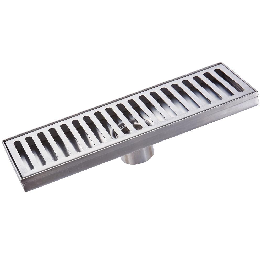 Stainless Steel Bathroom Grille Shower Drain Floor Drain Trap Waste Grate  Grid Strainer Anti Rust
