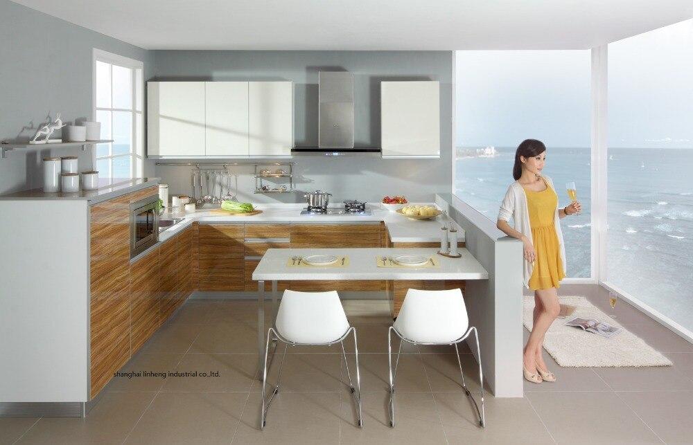 Акриловый глянцевый кухонный шкаф (LH HA007)