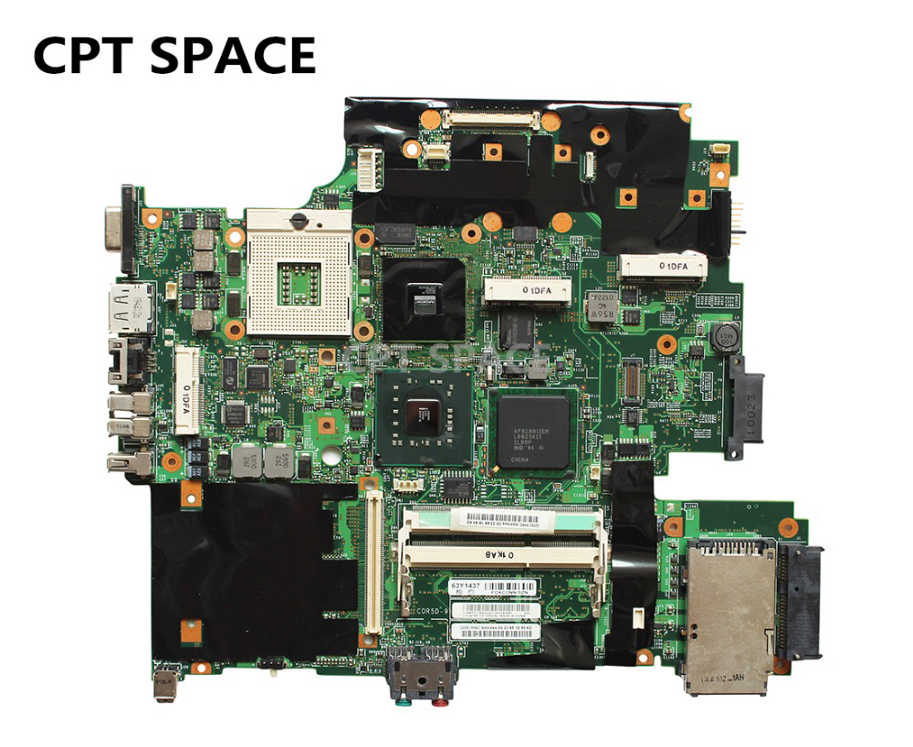 Ytai 63y1437 For Lenovo T500 Laptop Motherboard Ddr3 Slot Schematic Diagram Showing The Various Parts Of A Computer 4 Pieces Video Memory Mainboard Fully Tested In Motherboards From Office On