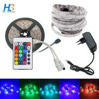 RiRi Won 20M 15M 10M 5M 12V 2835 Flexible RGB 3528 SMD LED Strip Waterproof Diode