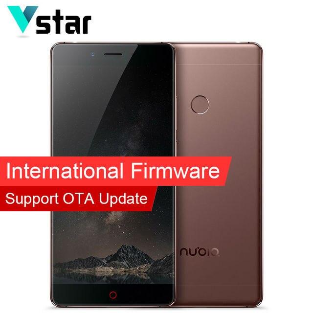 Международный Прошивки Оригинал Nubia Z11 Мобильный Телефон 5.5 Дюймов 6 Г RAM 128 Г ROM Snapdragon 820 Quad Core 16.0MP Отпечатков Пальцев NFC