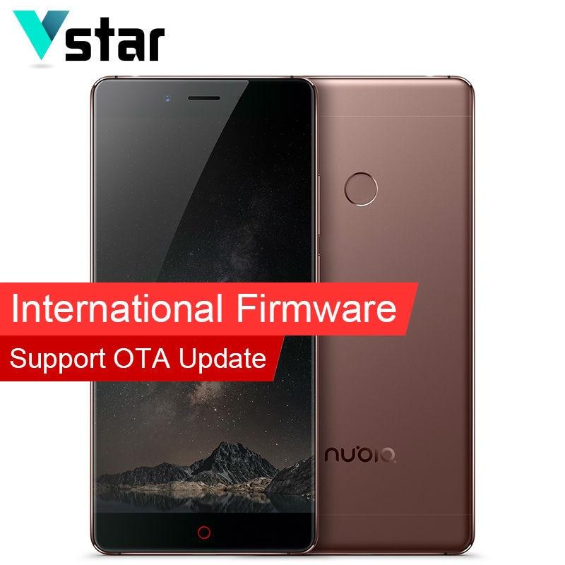 International Firmware Original Nubia Z11 Mobile Phone 5 5 Inch 6G RAM 128G ROM Snapdragon 820