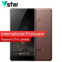 International Firmware Original Nubia Z11 Mobile Phone 5.5 Inch 6G RAM 128G ROM Snapdragon 820 Quad Core 16.0MP Fingerprint NFC