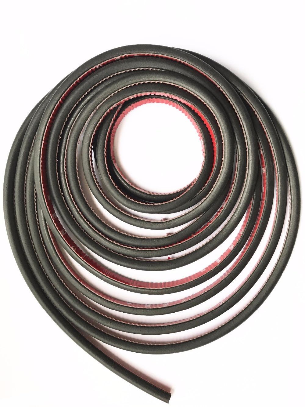Plano D Forma Hollow Car Rubber Seal Strip Burlete Auto adherencia - Accesorios de interior de coche - foto 3