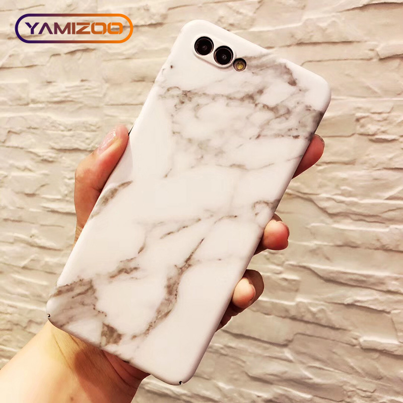 P20 Pro Case For Huawei P20 Lite Flower Hard Coque On Marble ...