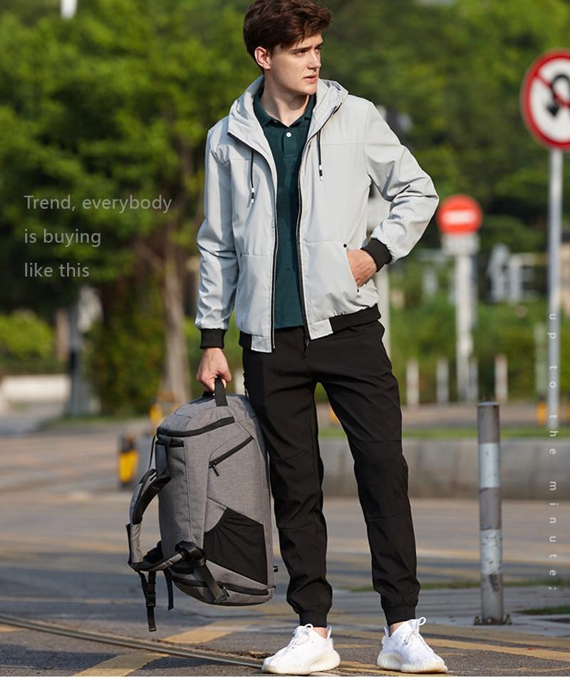 35L Fitness Gym Bags Outdoor Camping Backpack Sport Training Travel Men Woman Durable Multifunction Handbag Laptop Shoulder Bag (2)