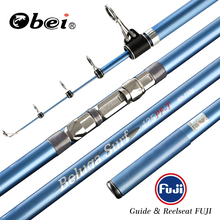 OBEI Surf Rod Sea Fishing Telescopic FUJI reelseat and guide 3.85m 4.05m 4.25m 80-150g surfcasting carp fishing rod
