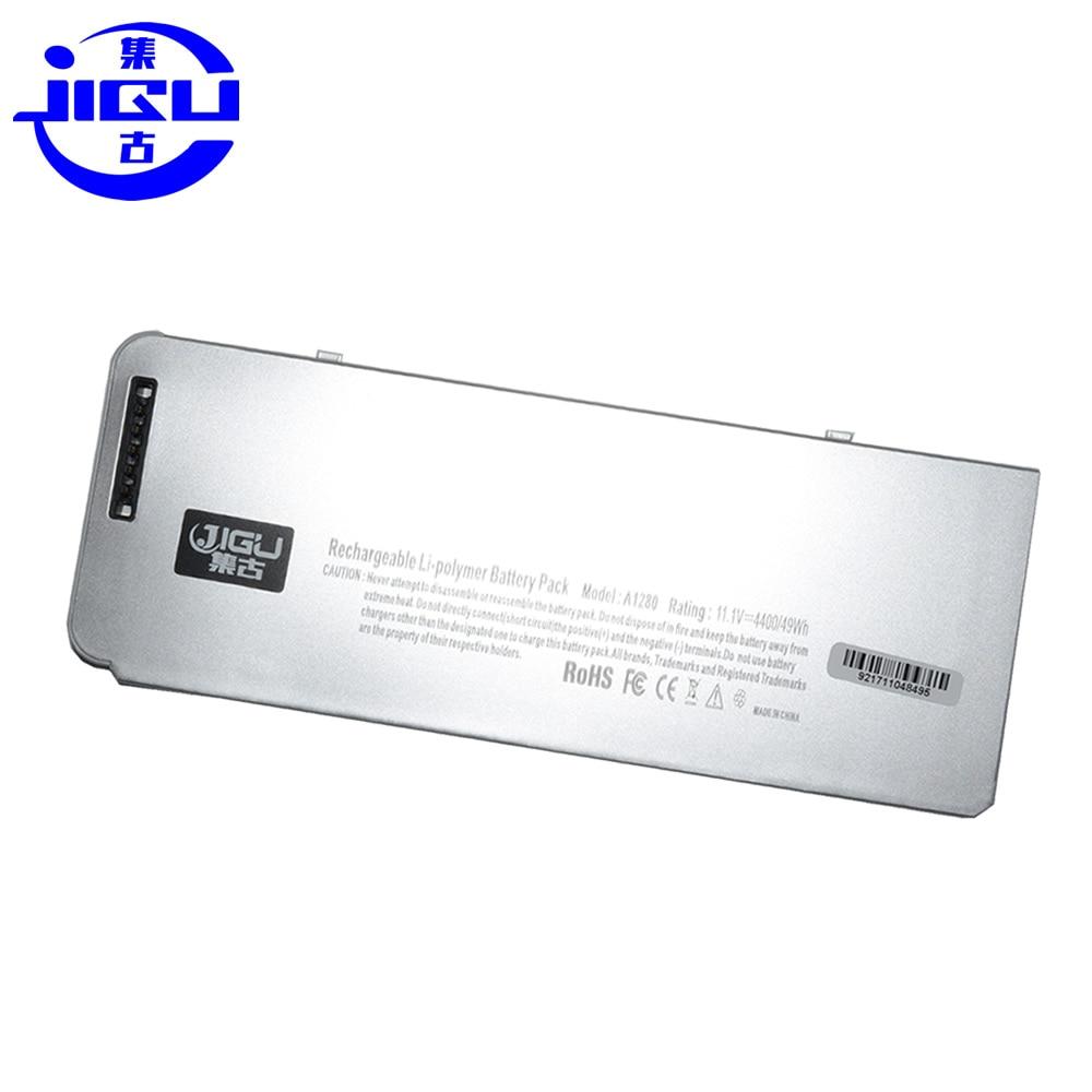 JIGU Plastic Shell MB466*/A For Apple MacBook A1280 Laptop Battery 13