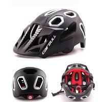 BICYCLE Helmet Mountain BIKE HELMET Detachable Visor Padded Adjustable Men Women Bluegrass Golden Eyes caschi mtb casco fox bici