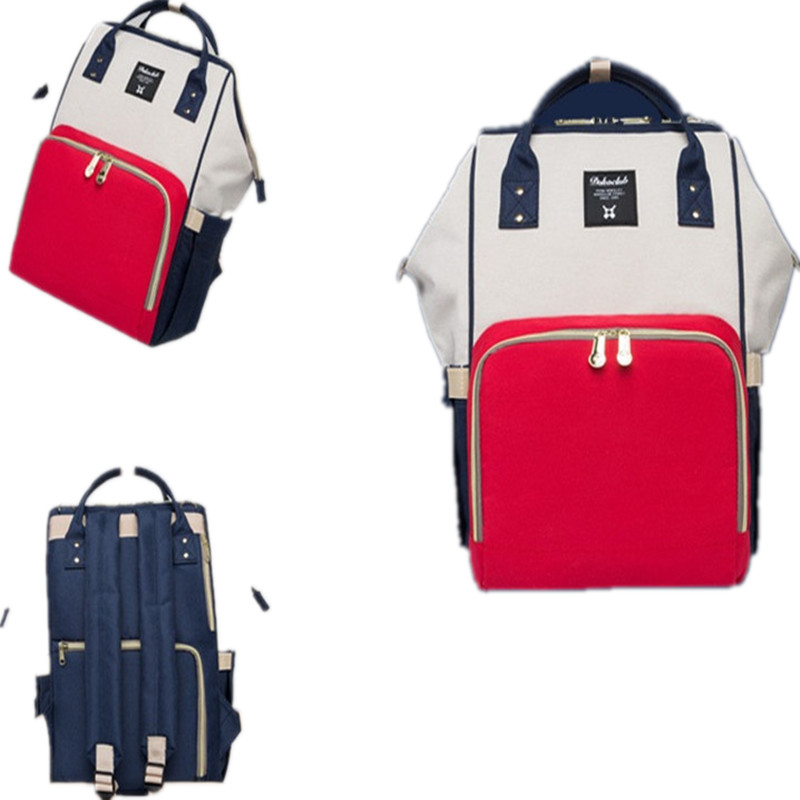 mom backpack 20l capacity oxford korean style out travel storage bags plain  soft handle patchwork hit color free shipping hot купить по лучшей цене 889eb637714b5