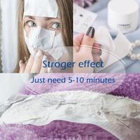 Новый LANBENA унисекс угрей Remover Нос уход за кожей лица маска для очищения пор черная маска пилинг акне лечение Черный глубокое очищение уход за кожей
