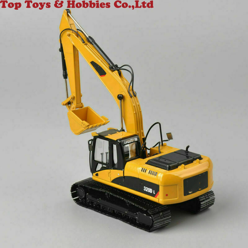 Collection Diecast 320D L 1/50TH Diecast Hydraulic Excavator Yellow Car Model Toy Diecast Model Engineering Vehicles Model