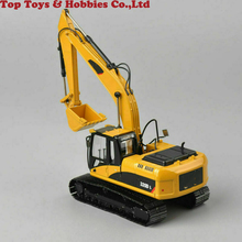 Collection Diecast 320D L 1/50TH Diecast Hydraulic Excavator Yellow Car Model Toy Diecast Model Engineering Vehicles Model цена