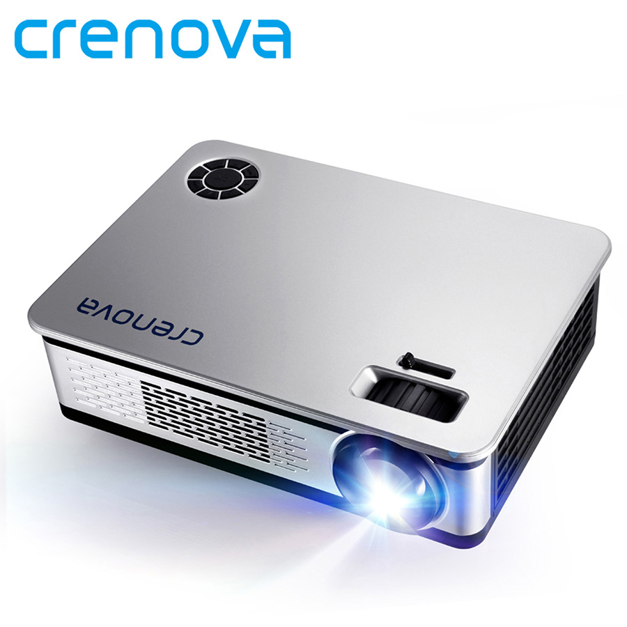CRENOVA 3500 Lumens LED Projector For Full HD Android Projector Support 1920*1080P With WIFI Bluetooth HDMI VGA USB AV Beamer все цены