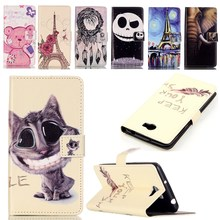 For Coque Huawei Y5 II Case Luxury Painted Cartoon Magnetic Flip Wallet PU Leather Cover For Fundas Huawei Ascend Y5 ii 2 Case