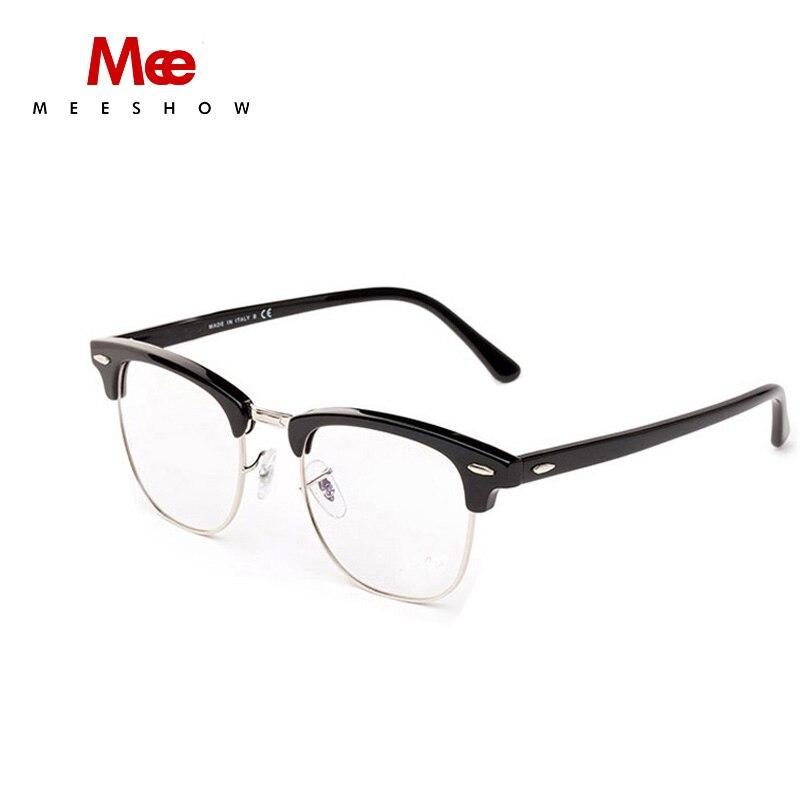 ae42d8299a3c Meeshow Brand design Eyeglasses Men women polular optical glasses retro  frame Customs glasses myoptics Lens 844