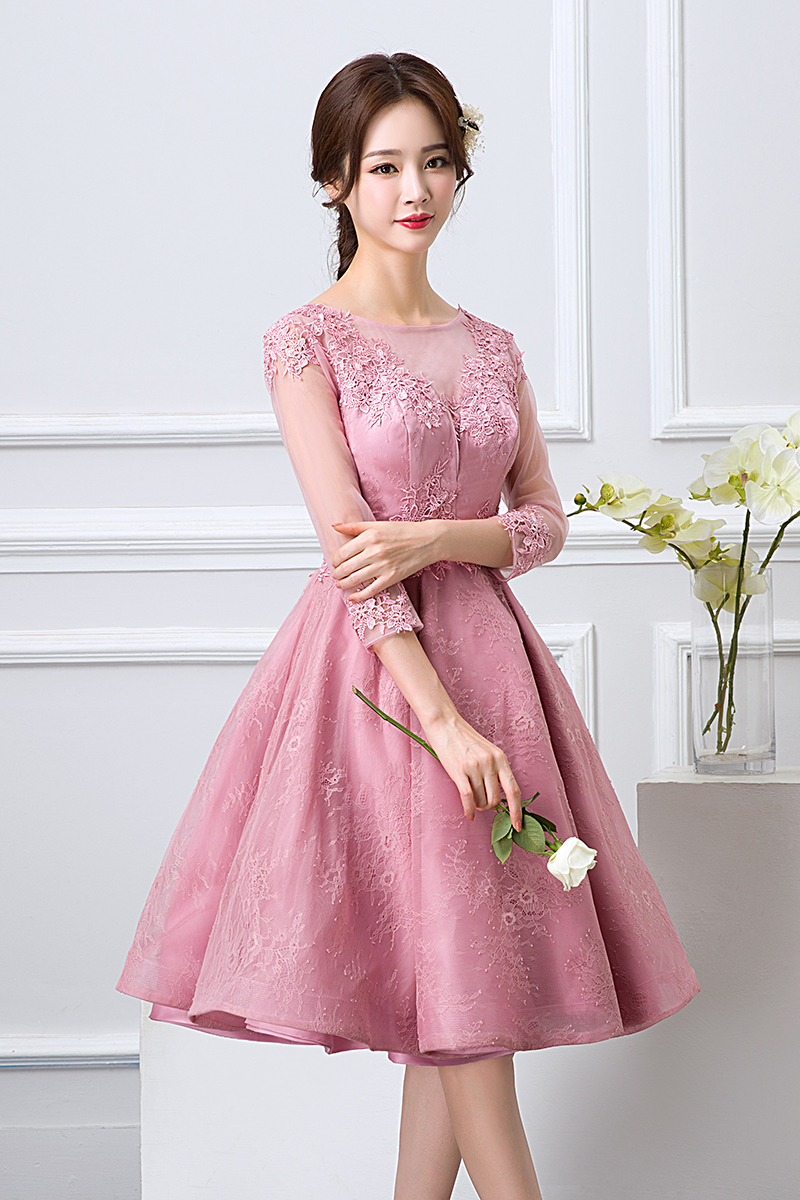 Lujo Vestidos De Color Rosa De Baile Del Reino Unido Motivo - Ideas ...