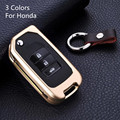 aluminum alloy car remote key case For Honda Jade CR-V odyssey Spirior Civic Accord CRIDER Vezel XRV luxury accessories