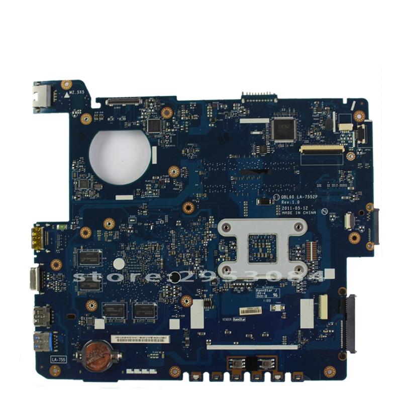 K53TK emaplaat LA-7552P RAM ASUS K53TA K53TK X53T K53T sülearvuti - Arvuti komponendid - Foto 3