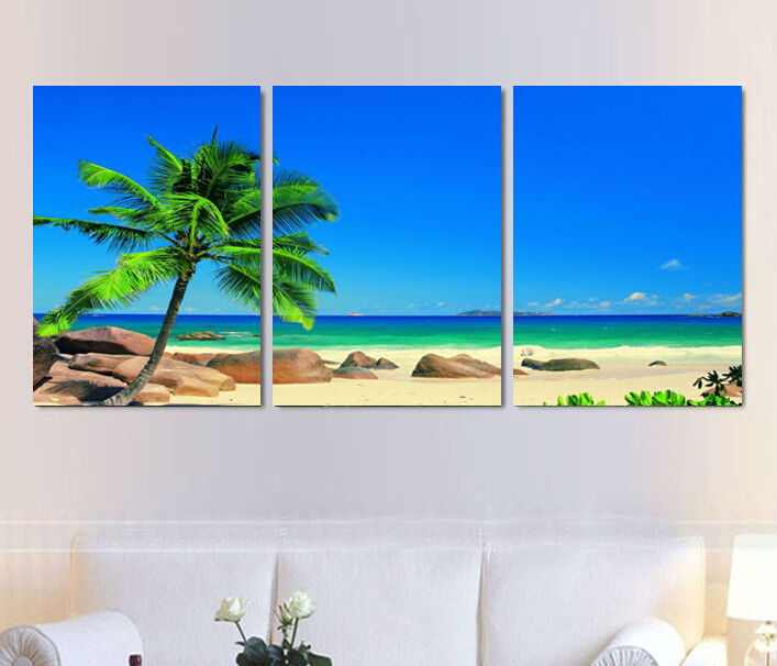 Aliexpress Com Buy Free Shipping 3 Piece Wall Decor: 3 Piece Free Shipping Cheap Abstract Modern Wall Painting
