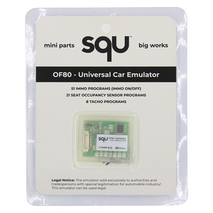 Image 5 - Emulador Universal para Airbag de coche SQU OF80 OF68 Automotriz Immo Off Tacho Seat programas de Sensor de ocupación para Benz, para BMW para VW