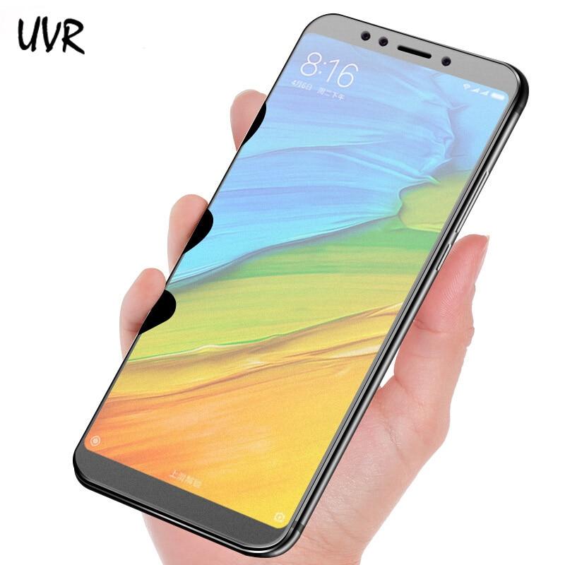 UVR 2.5D Matte Glass For Xiaomi Redmi 5 5Plus 5A Tempered Glass No Fingerprint 9H Screen