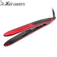 Hair Country Hair Straightener LED Display Flat Iron With Fast Warm Up Straightening Comb Professional Hair