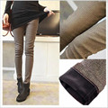 Pants care of pregnant women pregnant belly pants fall and winter clothes Korean version plus velvet jeans leggings