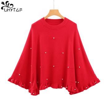 UHYTGFKorean Fashion Spring Women Sweaters 2018 Autumn befree  Loose Female Shawl Pullover Women Sweater Coat Tops Clothing 269