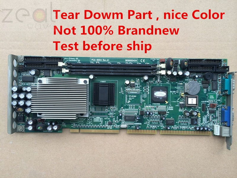 For Original Advantech PCA-6004 Rev.A1 Tear Down Part  PCA-6010VGFor Original Advantech PCA-6004 Rev.A1 Tear Down Part  PCA-6010VG