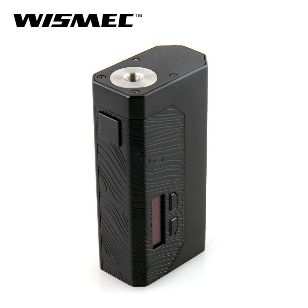 IN STOCK Original WISMEC Luxotic MF Box Mod 100W squonker Mod Mechanical box mod with 7ml