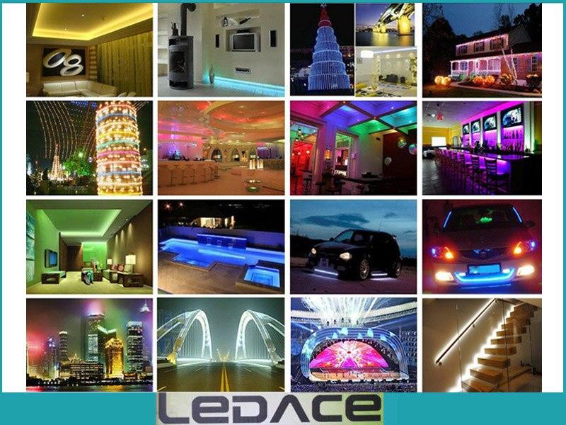 Impermeable 5M SMD 3528 RGB Kit de luz de tira flexible LED 300LEDs - Iluminación LED - foto 6