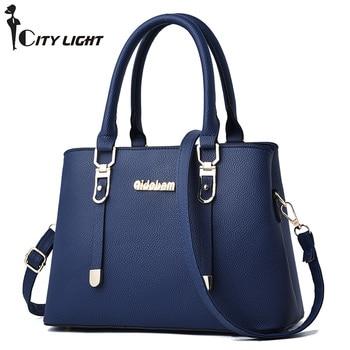 Women Handbag PU Leather Bag Zipper Crossbody Bags Lady Bag High Quality Fashion Handbags Top-Handle Bags Tote