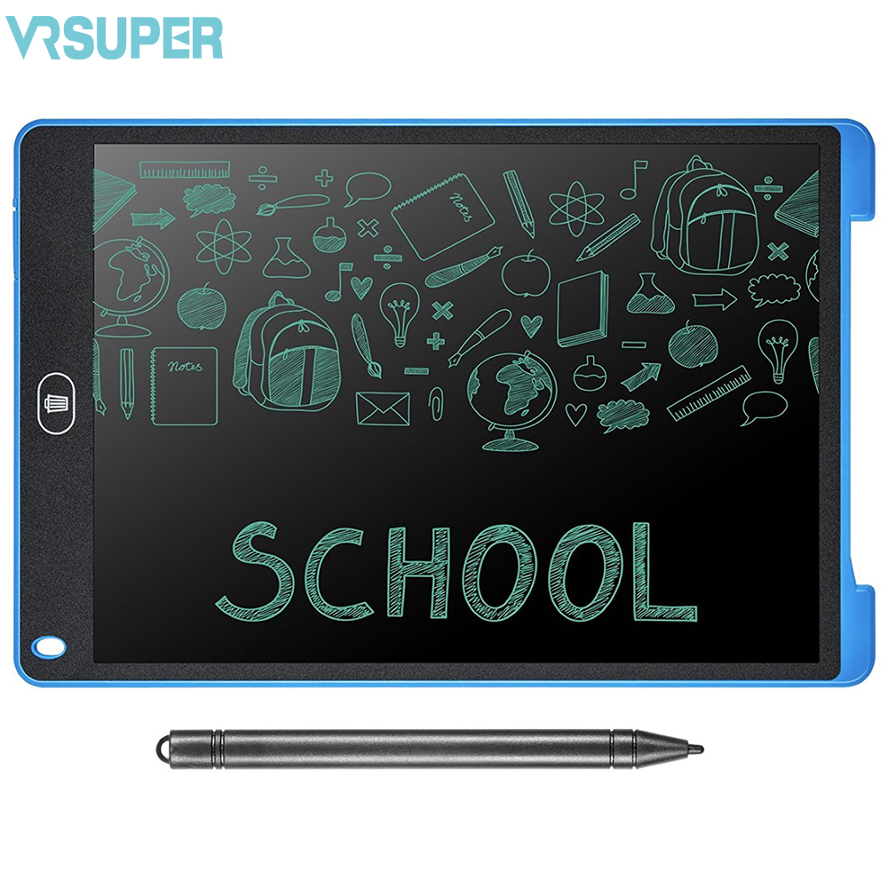12 Inch drawing Tablet handwriting Pads LCD Writing board Portable Electronic digital Tablet for drawing 8 5 inch frog handwriting tablet board lcd writing tablet graphic drawing board for kids xxm8