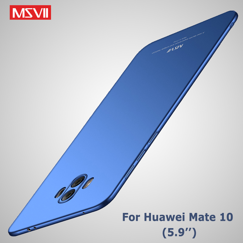 mate 10 case Original Msvii Brand Silm scrub cover coque huawei mate 10 lite case hard PC Back cover For huawei mate10 cases 5.9