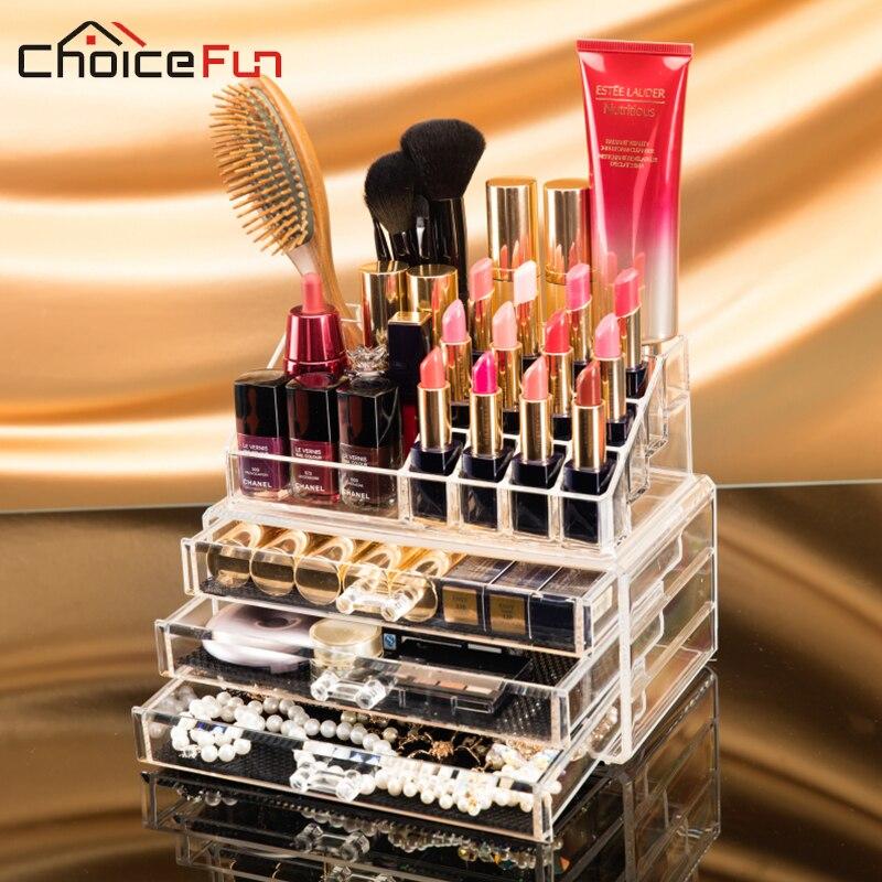 Storage-Box Makeup Organizador Acrylic FUN SF-1304 CHOICE Bijoux Boite Maquillage
